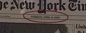 What's a hostage shot without a NYT frontpage date?